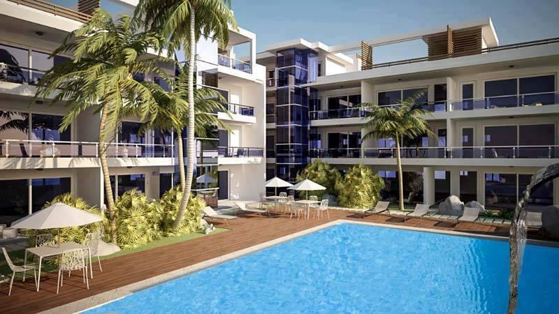 Tutto-Annunci Vendo appartamento di una camera soggiorno angolo cottura da arredera in Residence con piscina e sic